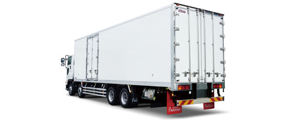 Demonstrating its power in mass transport of food (frozen food, dairy products, and fresh vegetables).